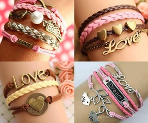 fashion, pink, and love image