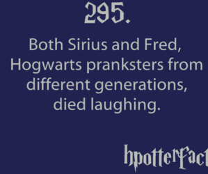harry potter, sirius black, and fact image