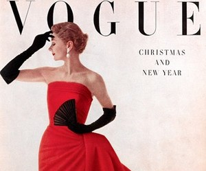 vogue, vintage, and cover image