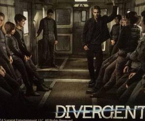 divergent, tobias, and tris image