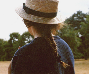 vintage and fishtail braid image