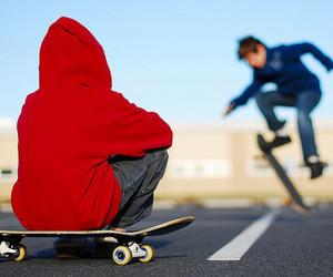 boy, skate, and guy image