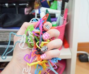 nails, bracelet, and tumblr image