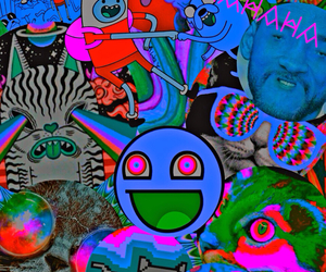amaze, high, and trippy image