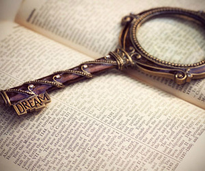 book, Dream, and key image