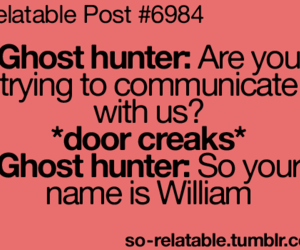 funny, lol, and ghost hunter image