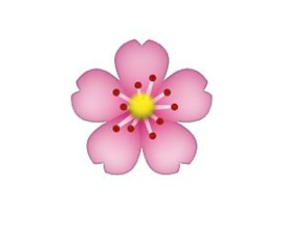 overlay, flower, and emoji image