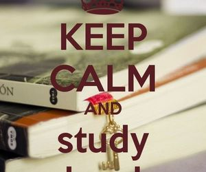 study, hard, and quote image