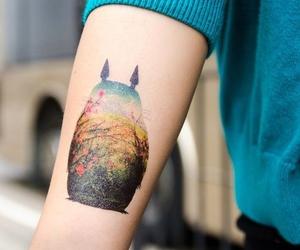 tattoo and totoro image