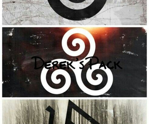 teen wolf, alpha, and pack image