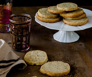 chai, cookie, and tea image