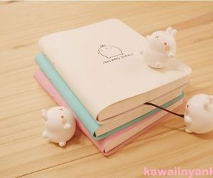 cute, kawaii, and book image