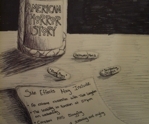 american horror story, ahs, and pills image