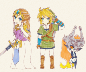 fanart, Legend of Zelda, and link image