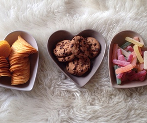food, Cookies, and chips image