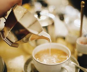 tea, coffee, and food image