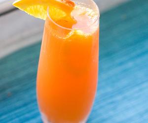 drink, orange, and fruit image