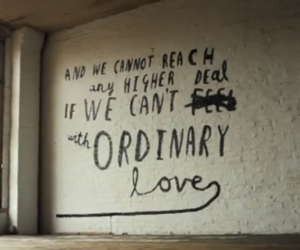 u2, ordinary love, and Lyrics image