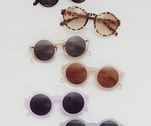 fashion, sun, and glasses image
