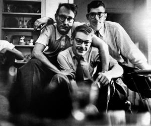 Allen Ginsberg, Beat Generation, and lucien carr image
