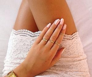 nails, fashion, and dress image