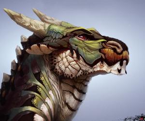 dragon and furry image