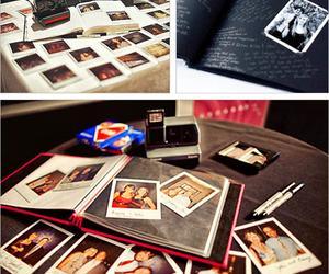 wedding, ideas, and polaroid image