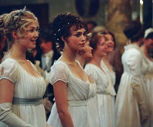 pride and prejudice, keira knightley, and dress image