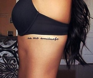 tattoo, black, and sexy image