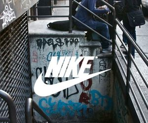 nike, skate, and street image