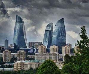 old city, baku, and azerbaijan image