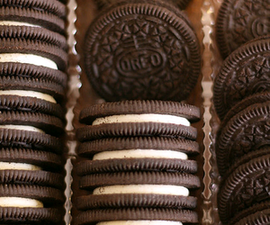 oreo, food, and chocolate image