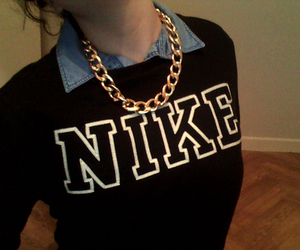 nike, swag, and gold image