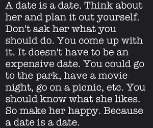 date, quote, and love image