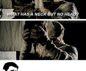 funny, head, and teen wolf image