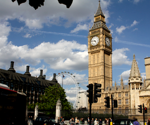 Big Ben, city, and Great Britain image