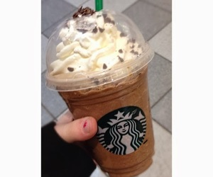 starbucks, drink, and love image