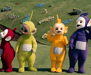 teletubbies and childhood image