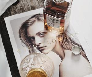 fashion, alcohol, and magazine image