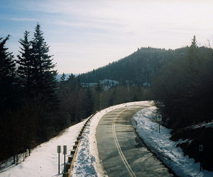 road, indie, and hipster image