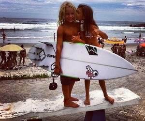 surf, beach, and kids image