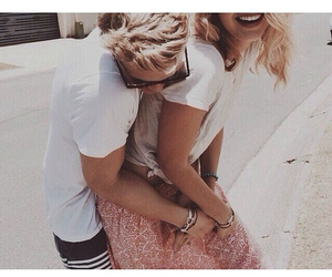 couple, love, and cody simpson image