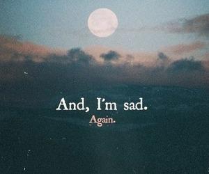 again and sad image
