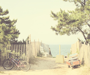 summer, vintage, and beach image