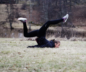 balance, flexible, and girl image