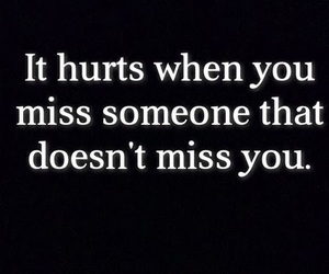 hurt, quote, and miss image
