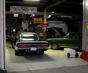 black, dodge charger, and car image