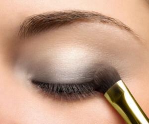 cosmetics, make up, and smokey eyes image