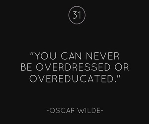 never, oscar wilde, and quote image