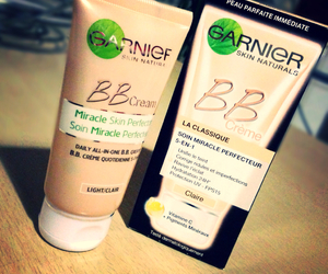 bb, cream, and garnier image